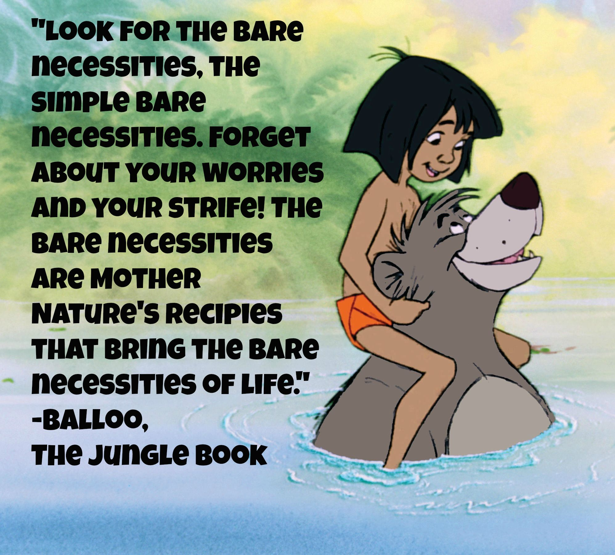Jungle Book Quotes Jungle Book Movie Quote  Reelmama Encouragement  Pinterest