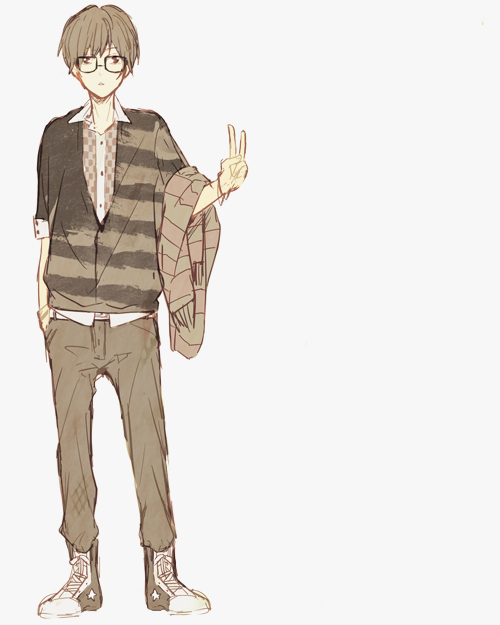anime, boy, and cute image Anime outfits, Cute images