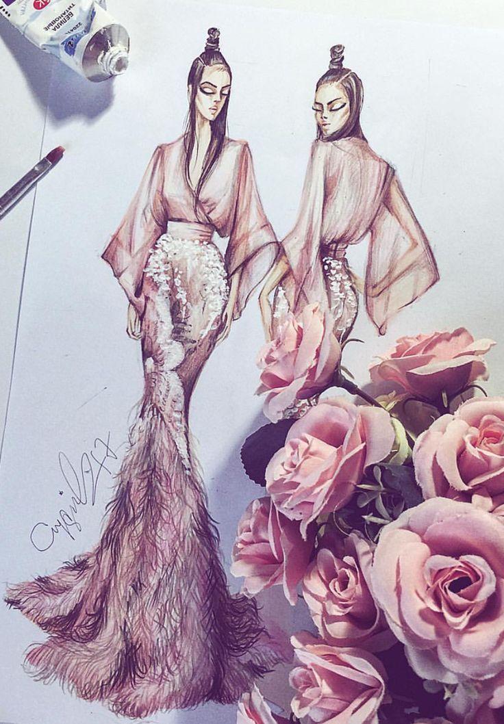 Photo of AYGUL_SAFARLI #Fashionillustrations| Be Inspirational ❥|Mz. Manerz: Being well…