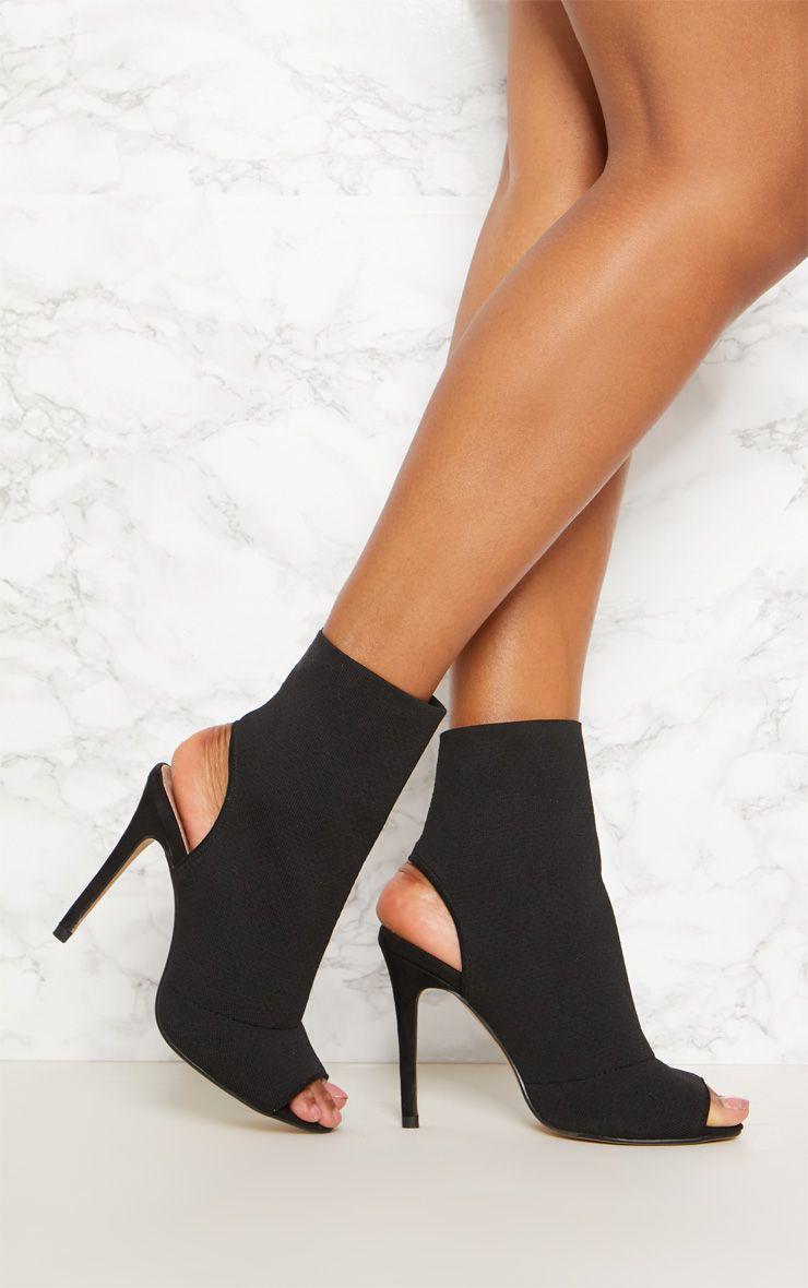 heels, Shoe boots, Peep toe boots