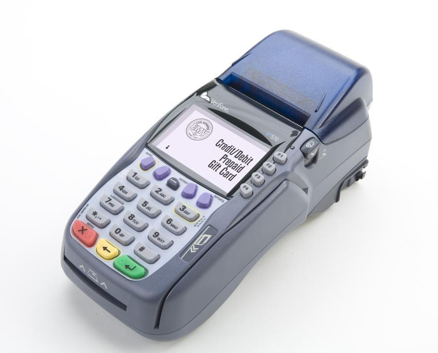 Alliance Bankcard Services VeriFone VX 570 credit card terminal ...