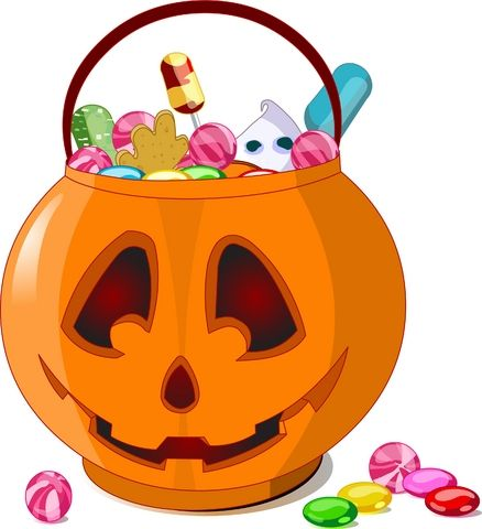 Best Halloween Candy Clipart 22661 Clipartion Com Dibujo De Calabaza Cosas De Halloween Dulces Halloween