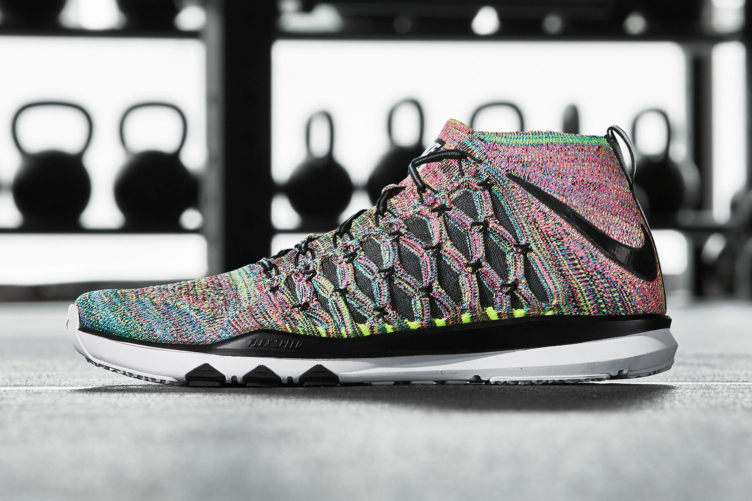 The Nike Train Ultrafast Flyknit Gets A Multicolor Makeover - MISSBISH  03ec7f4ef