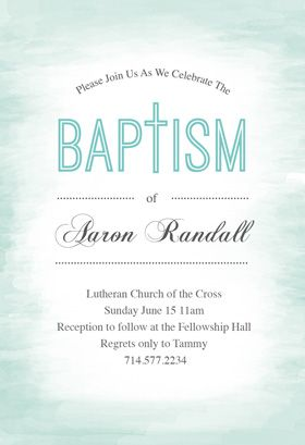water printable invitation template customize add text and photos