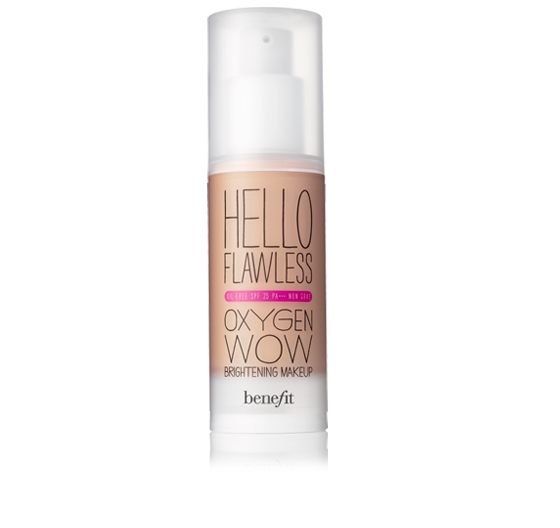 "Benefit ""Hello Flawless!"" Oxygen Wow Liquid Foundation"