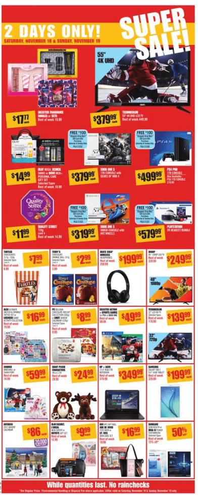 Shoppers Drug Mart Weekly Flyer Nov 18 - 24, 2017
