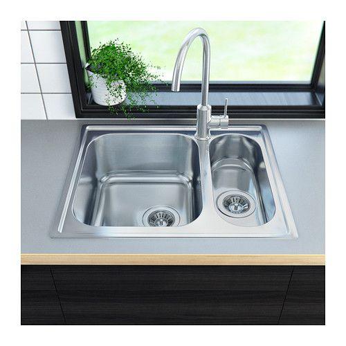 Good BOHOLMEN   Inset Sink 1 1/2 Bowl, Stainless Steel   $132.98   Http