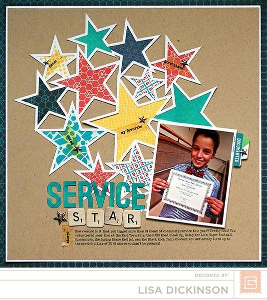 service star | BasicGrey Capture by bluestardesign @2peasinabucket