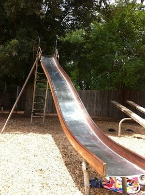 This Playground Slide Can Give You A Feel For Building Science Playground Slide Diy Playground Playground