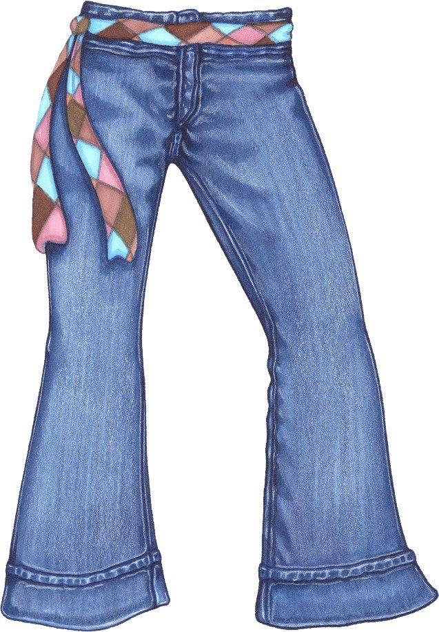 jeans by dan morris artists i like pinterest dan morris dan rh pinterest com blue jean day clip art Denim Jeans Clip Art