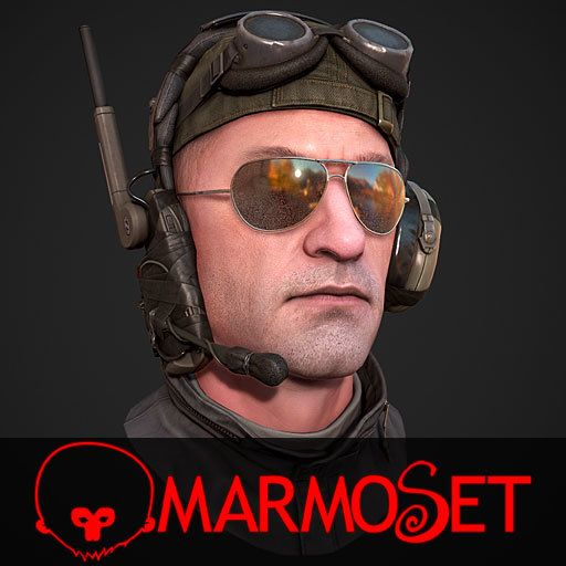 pilot - Marmoset, Mashru Mishu on ArtStation at https://www.artstation.com/artwork/OGdlk