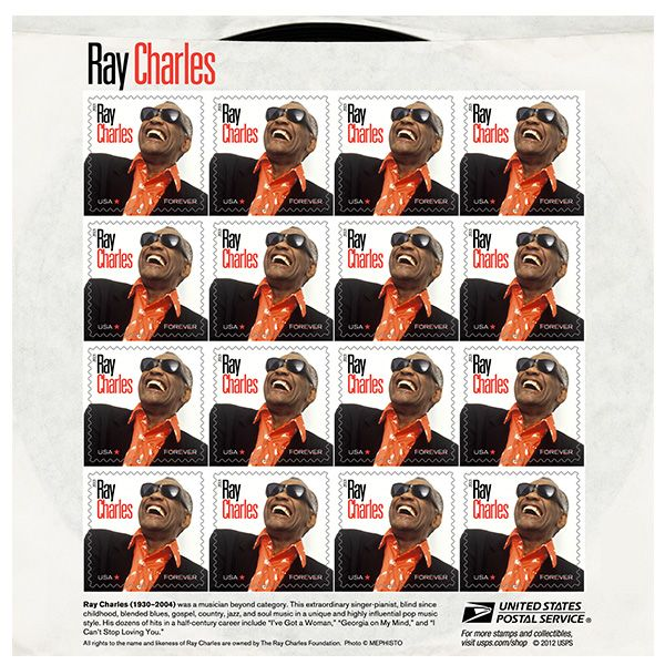 Ray Charles Forever Stamp