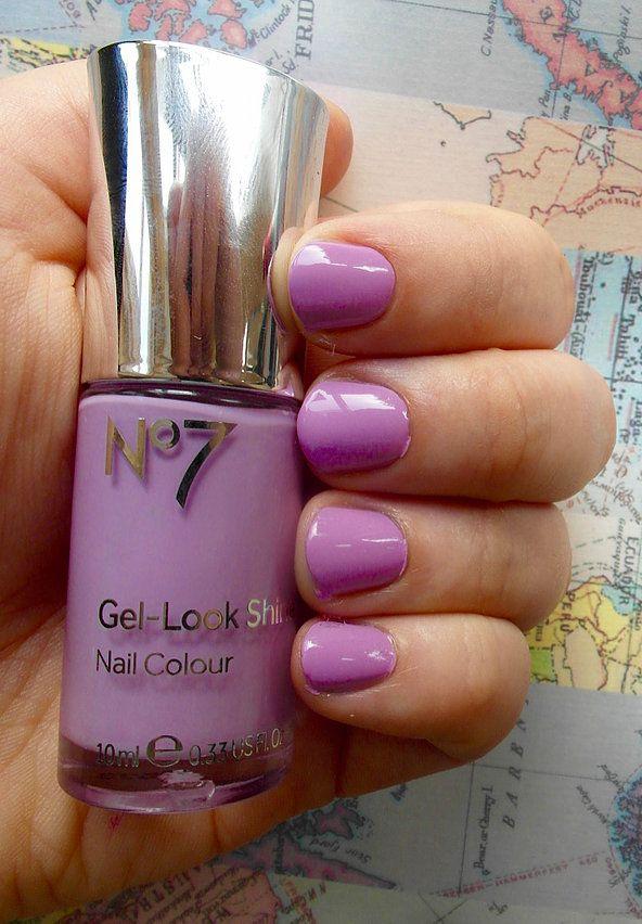 No 7 Gel Nails - \'Sweet Lilac\' | Nails | Pinterest | Lilacs