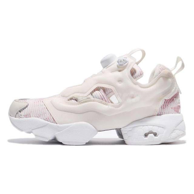 50ce6210cc26 Reebok InstaPump Fury FBT Pump Chalk Blue Red Flash Women Running Shoes  BS6001