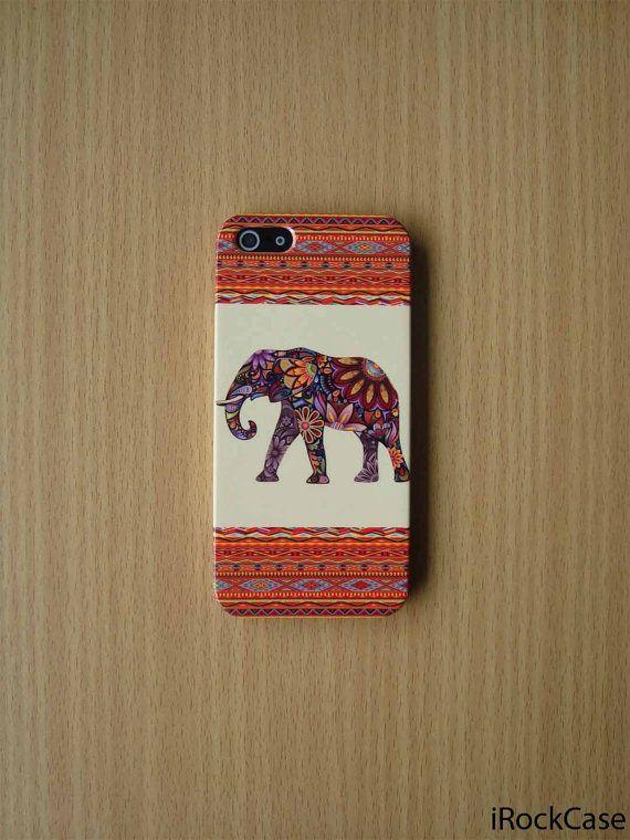 Aztec Floral Elephant iPhone Case Elephant Floral by iRockCase, $19.99