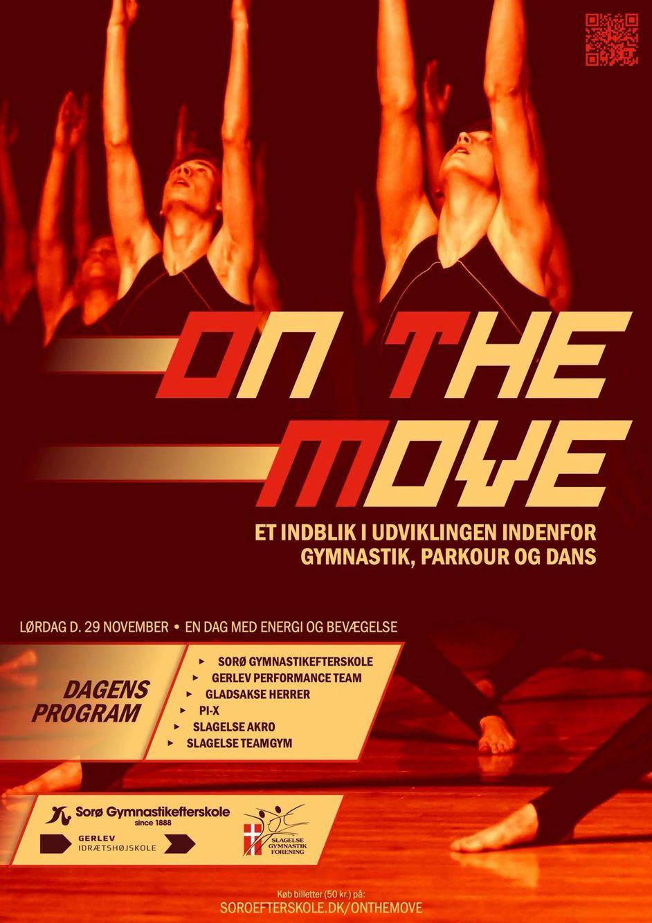 On the Move - kom til en fantastisk gymnastikopvisning. Ses vi lørdag den 29. november kl. 14.00 i Slagelse... #soroefterskole #onthemove #slagelsegf #gerlev