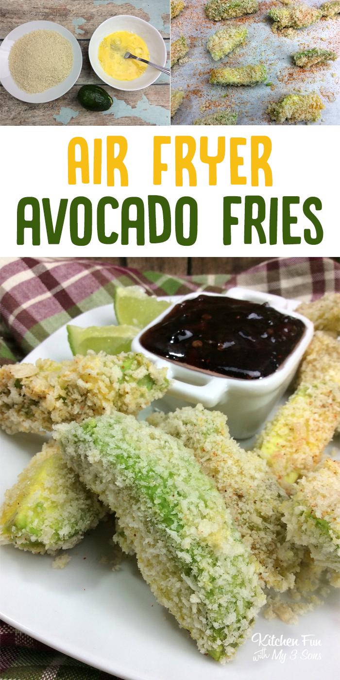 Airfryer Avocado Fries Air Fryer Recipes Yummy Avocado
