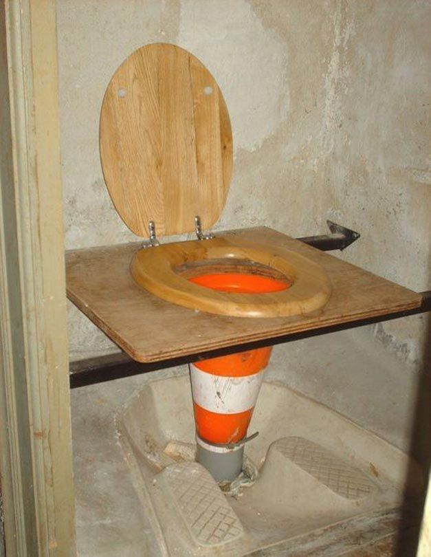 Alternate uses for a traffic cone