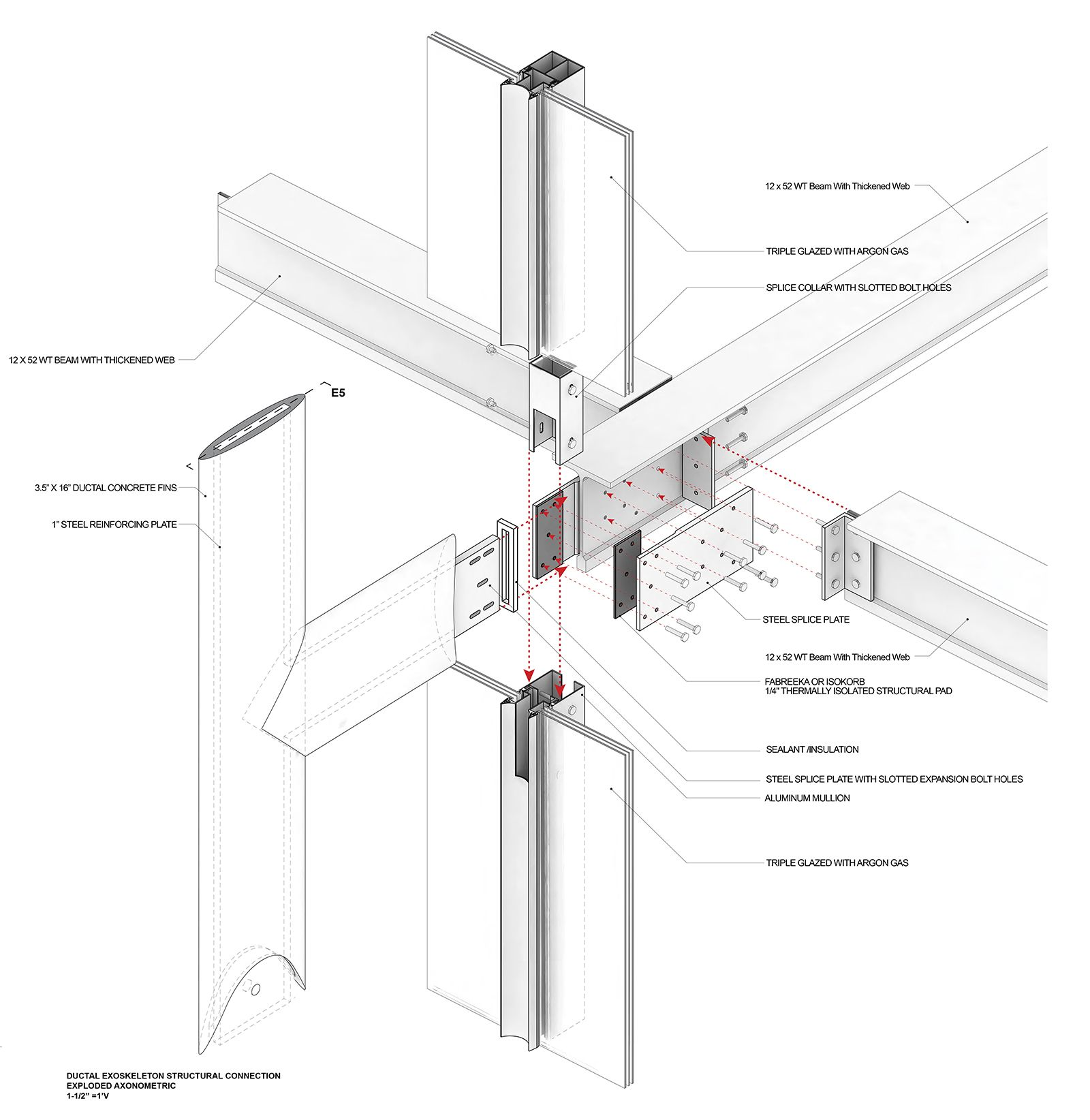 Architectural Technology 5 Columbia Abstract Construction Details Architecture Facade Design Structure Architecture