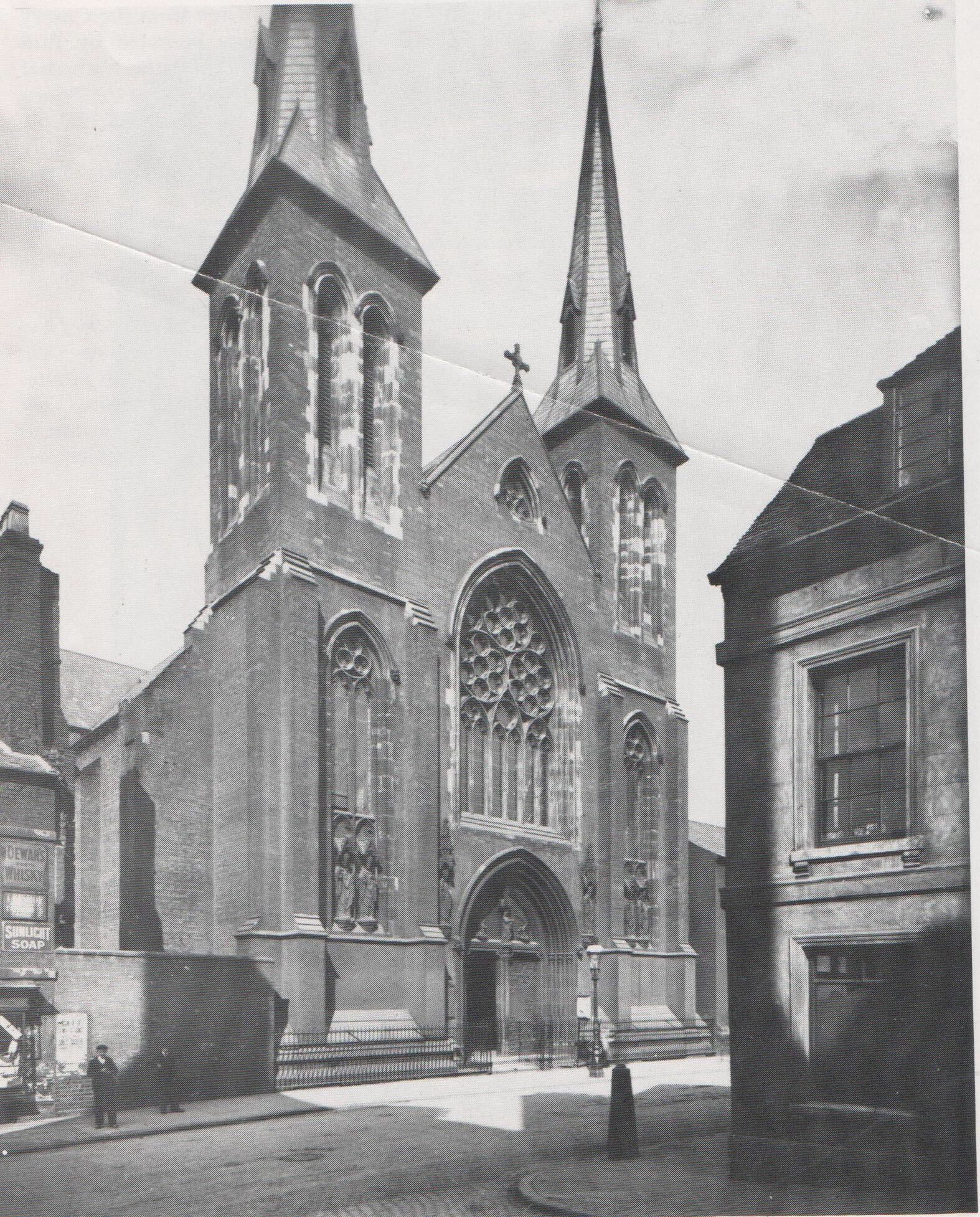 St Chads Roman Catholic Church Birmingham dated 1902 ...