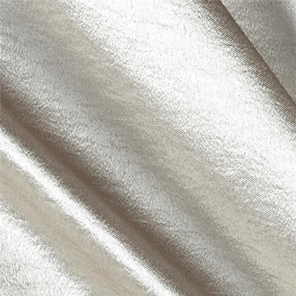 Stretch Crepe Satin Champagne from @fabricdotcom  Crepe Back Satin is a reversible satin fabric with a crepe side and a satin side. It's perfect for creating contrasting elements in formal wear, special occasion garments, lingerie, and bridal gowns.