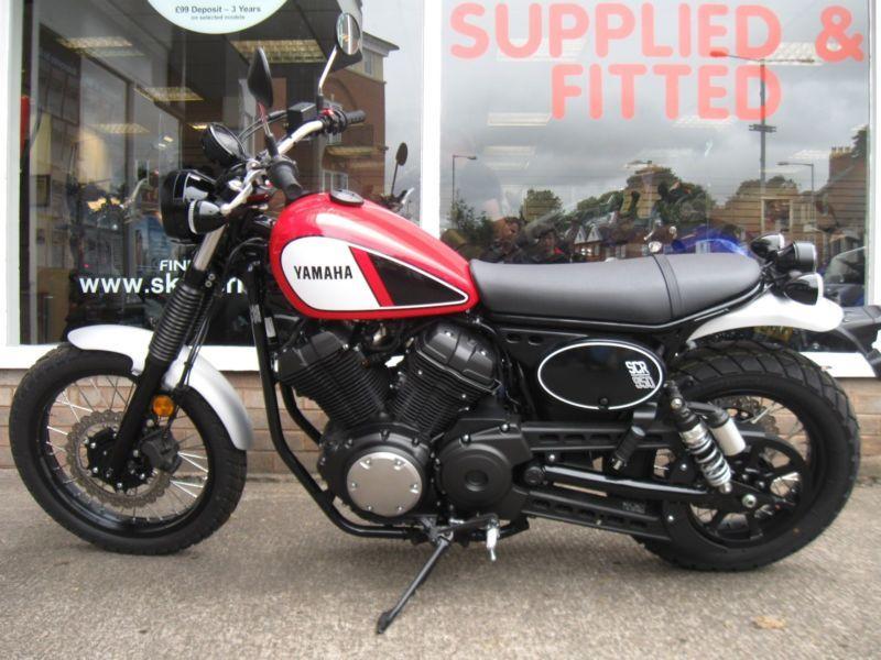 Yamaha Xv950scr Scr950 Abs Scrambler