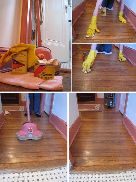Waxed Wood Floors Hardwood Floor Wax