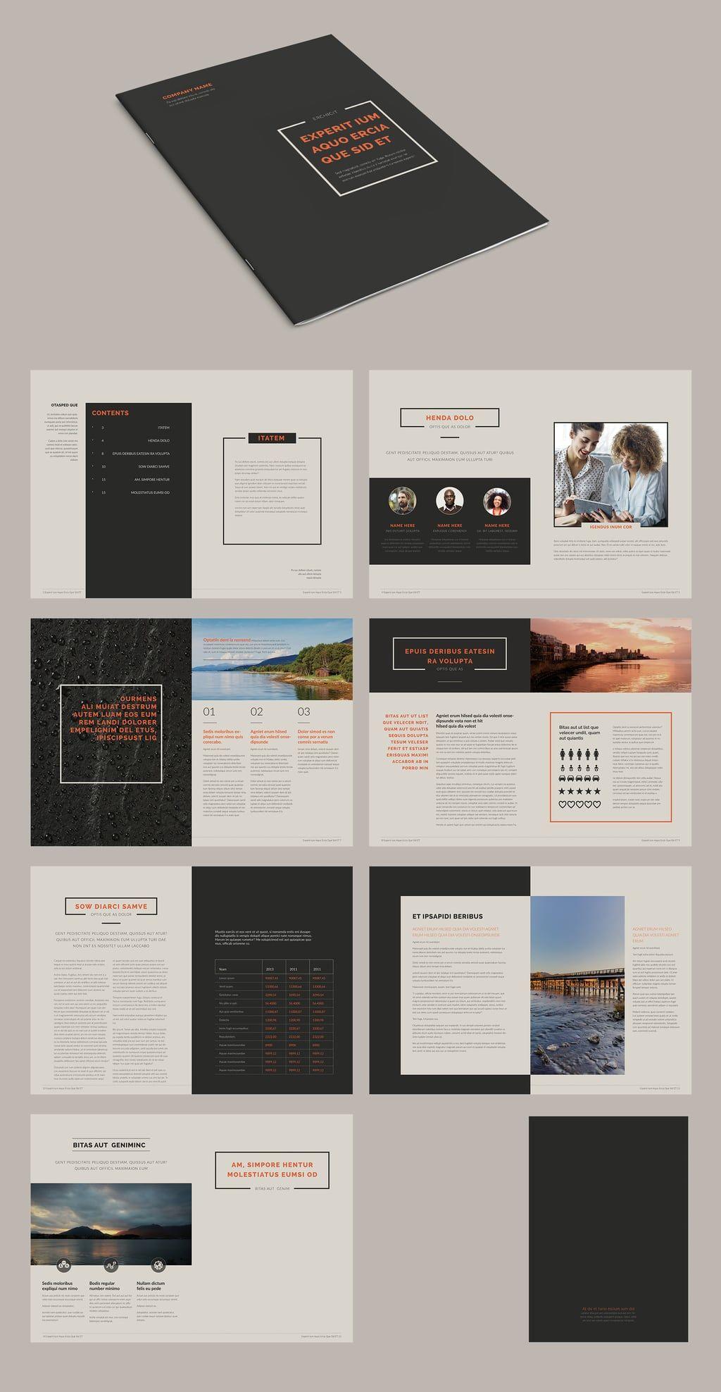100 Best Indesign Brochure Templates throughout Brochure