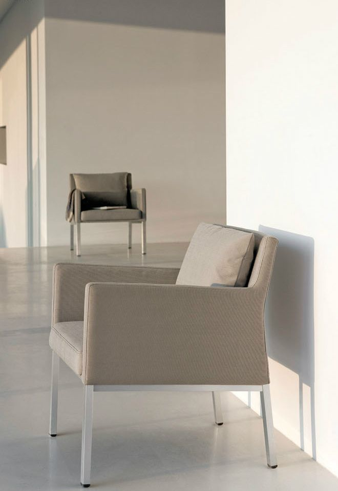Liner armchair for Manutti LUXURY HOTEL Pinterest Armchairs - designer gartenmobel kenneth cobonpue