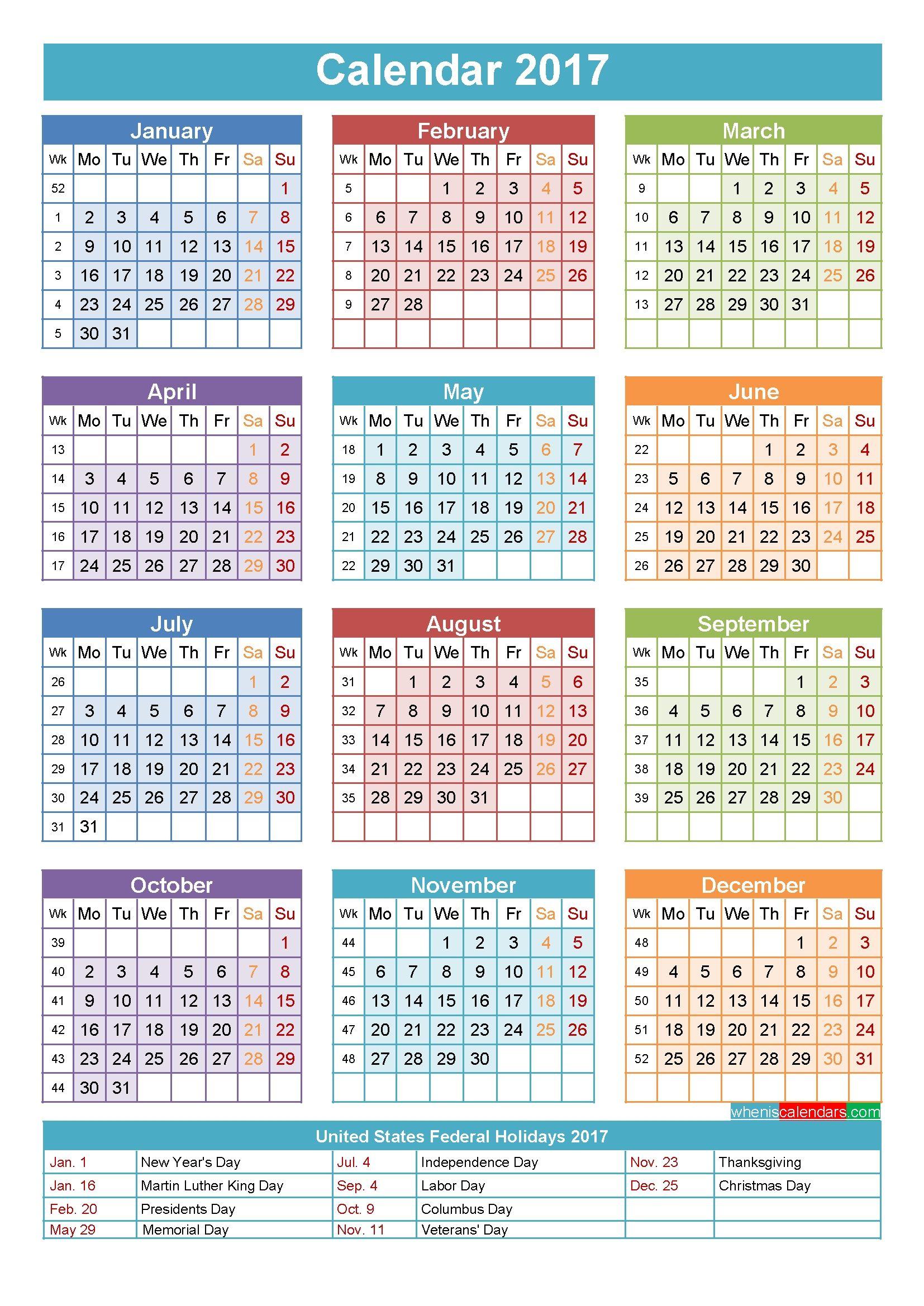 Year Calendar With Week Numbers In 2020 Calendar 2019 Template Blank Calendar Template Calendar June