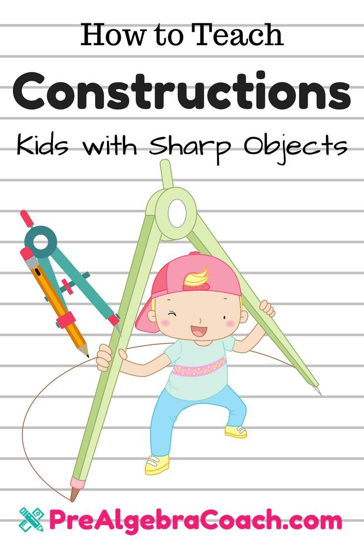 Worksheets Construction Math Worksheets construction activity geometric constructions pre algebra compass how to teach prealgebracoach com