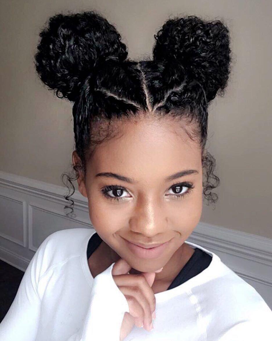 B u n l i f e hair pinterest natural hair style and hair goals
