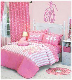 Ballet Reversible Comforter Set Ballerina Bedroom Decor Girls Bedroom Ballerina Room Decor