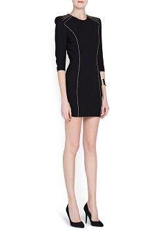 MANGO - CLOTHING - Dresses - Cocktail - Metal details dress