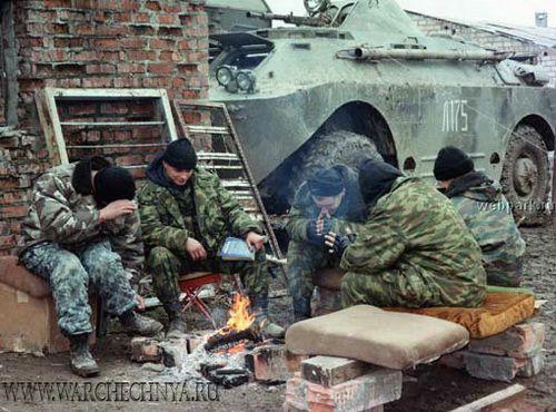 Фото войны в Чечне | Война, Солдаты, Военный