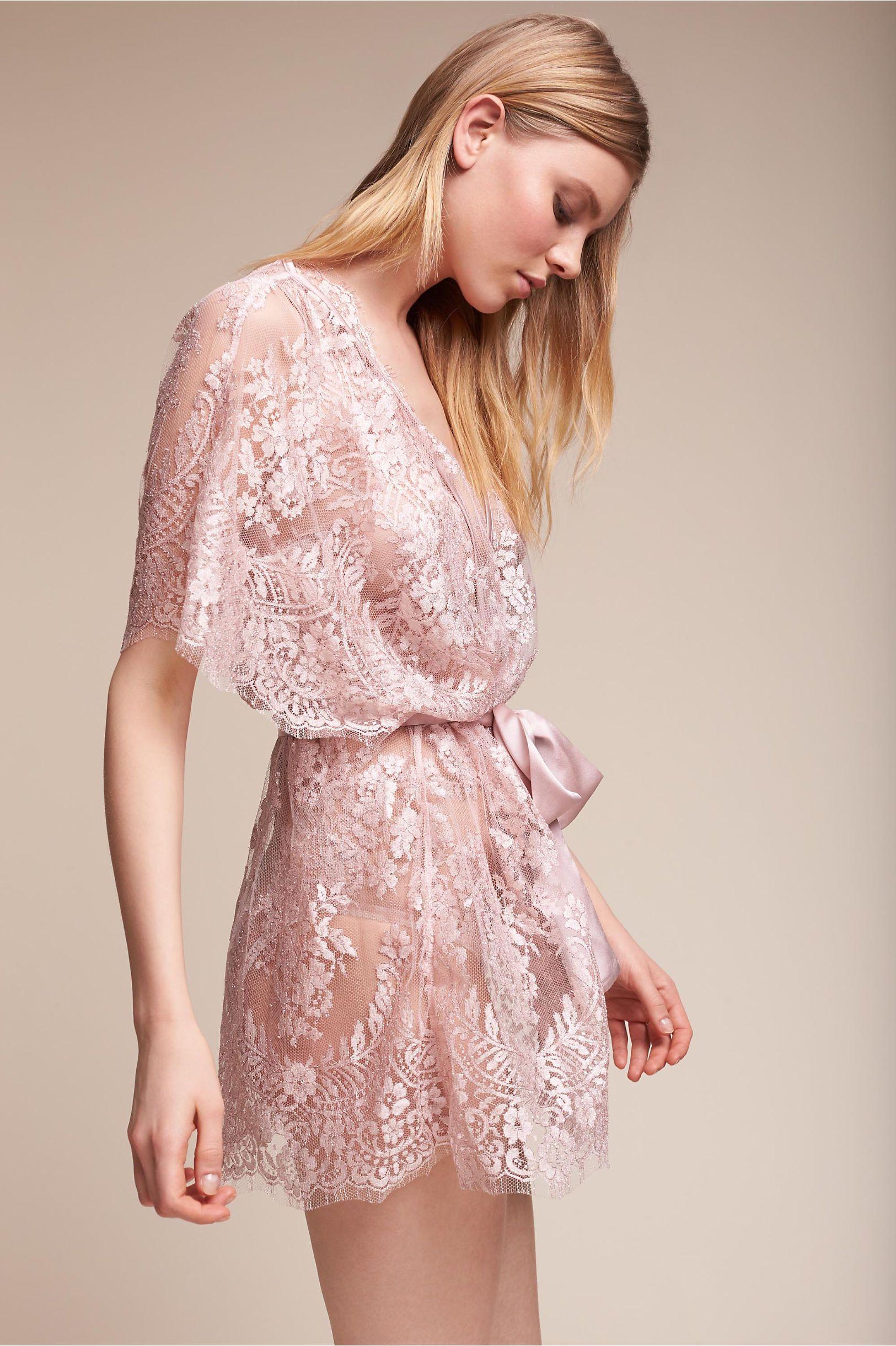 BHLDN Eclat Kimono in Lingerie & Swim | BHLDN | LINGERIE ...