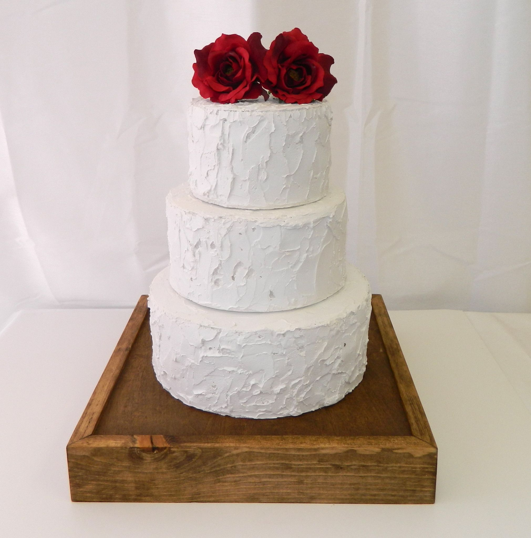 Rustic Wooden Cake Stand | Weddings and Events | Wedding Cakes ...