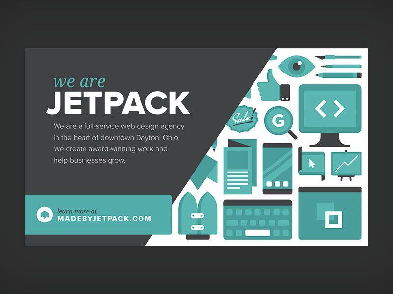Jetpack Half Page Ad Ad Design Web Design Agency Ads