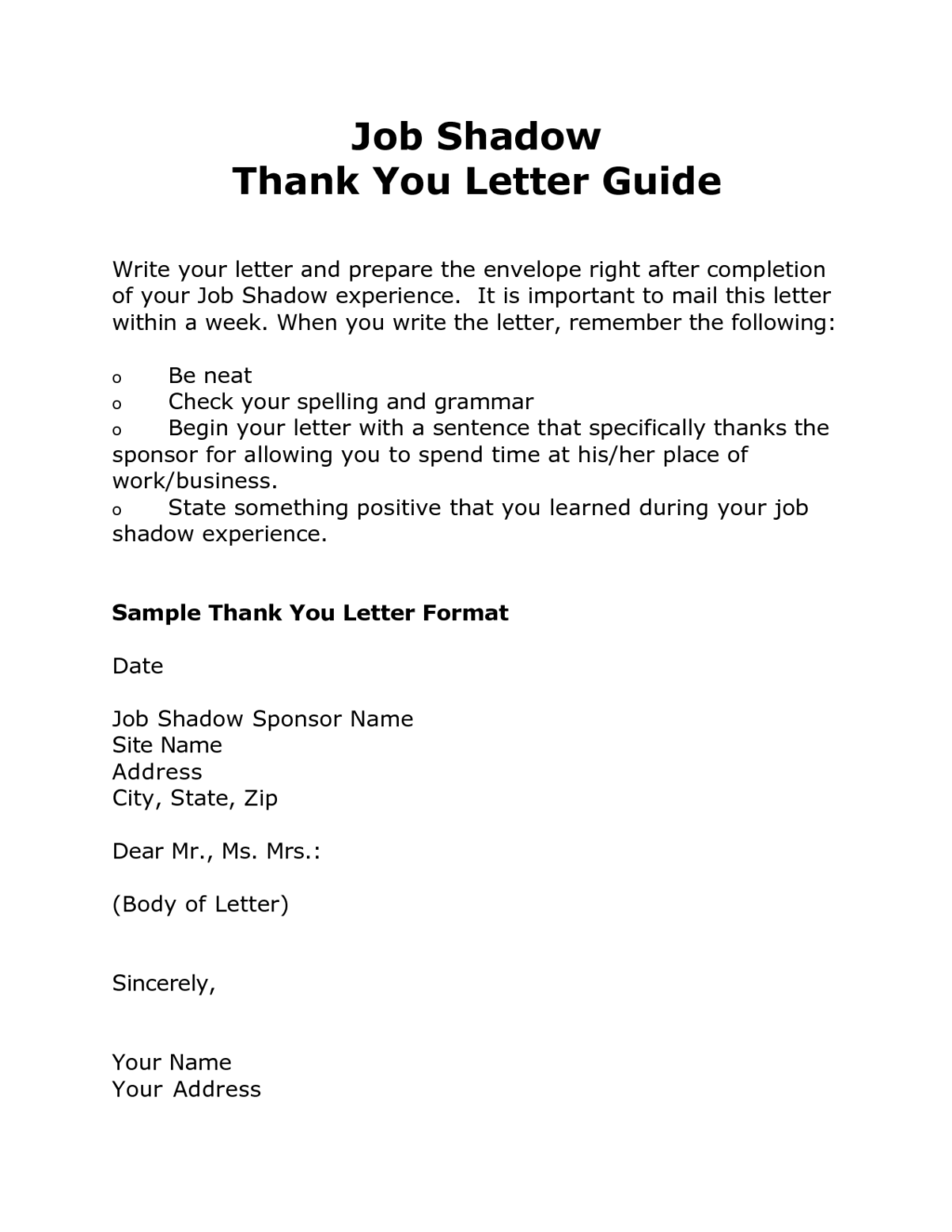 Sample letter for job opportunity thank you cover templates shadow sample letter for job opportunity thank you cover templates shadow guide aljukfo Gallery