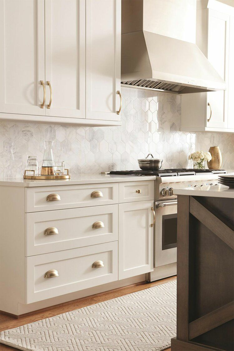 10 Kitchen Tile Ideas You Ll Want To Copy Asap Wayfair In 2020 Kitchen Trends New Kitchen Cabinets Kitchen Cabinets