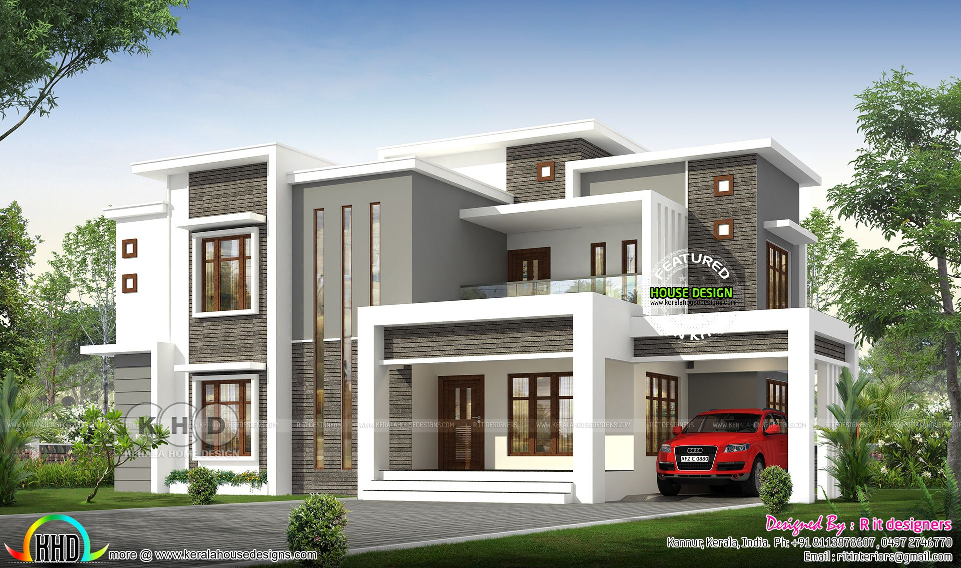 90 Best Small Contemporary House Designs Kerala House Design Duplex House Design Contemporary House Plans