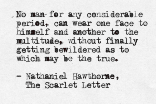 Scarlet Letter Quotes The Scarlet Letternathaniel Hawthorne Submitted