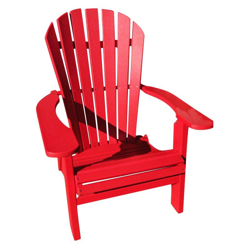 phat tommy outdoor recycled plastic deluxe folding adirondack chair