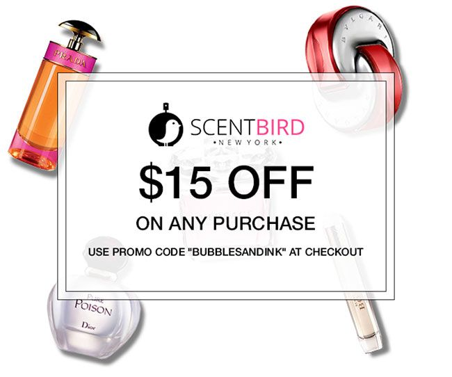 Scent bird promo