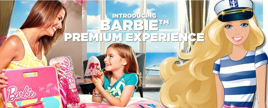The Barbie Premium Experience, only on Royal Caribbean