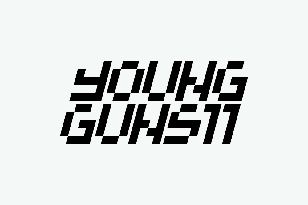 Grandarmy Adc Young Guns 11 Get Hyped Level Up Logo Design Creative Agency Viral Marketing