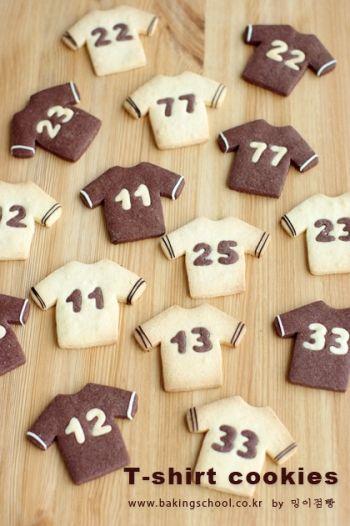 Футболка печенье в форме