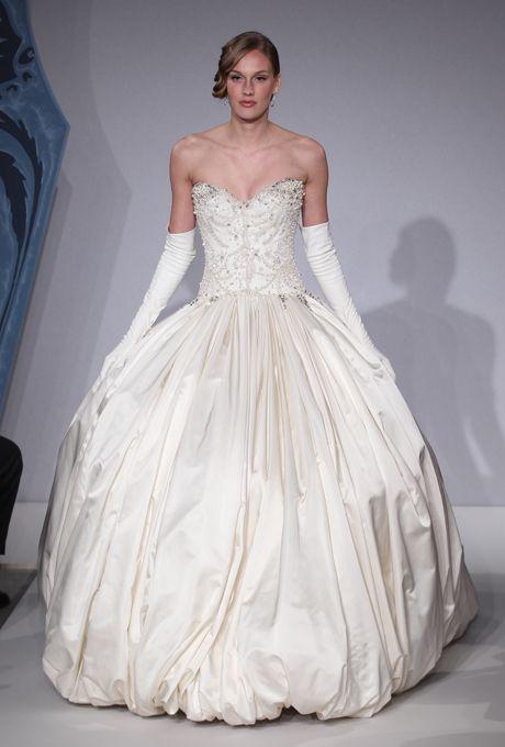 Silk Taffeta Wedding Dress