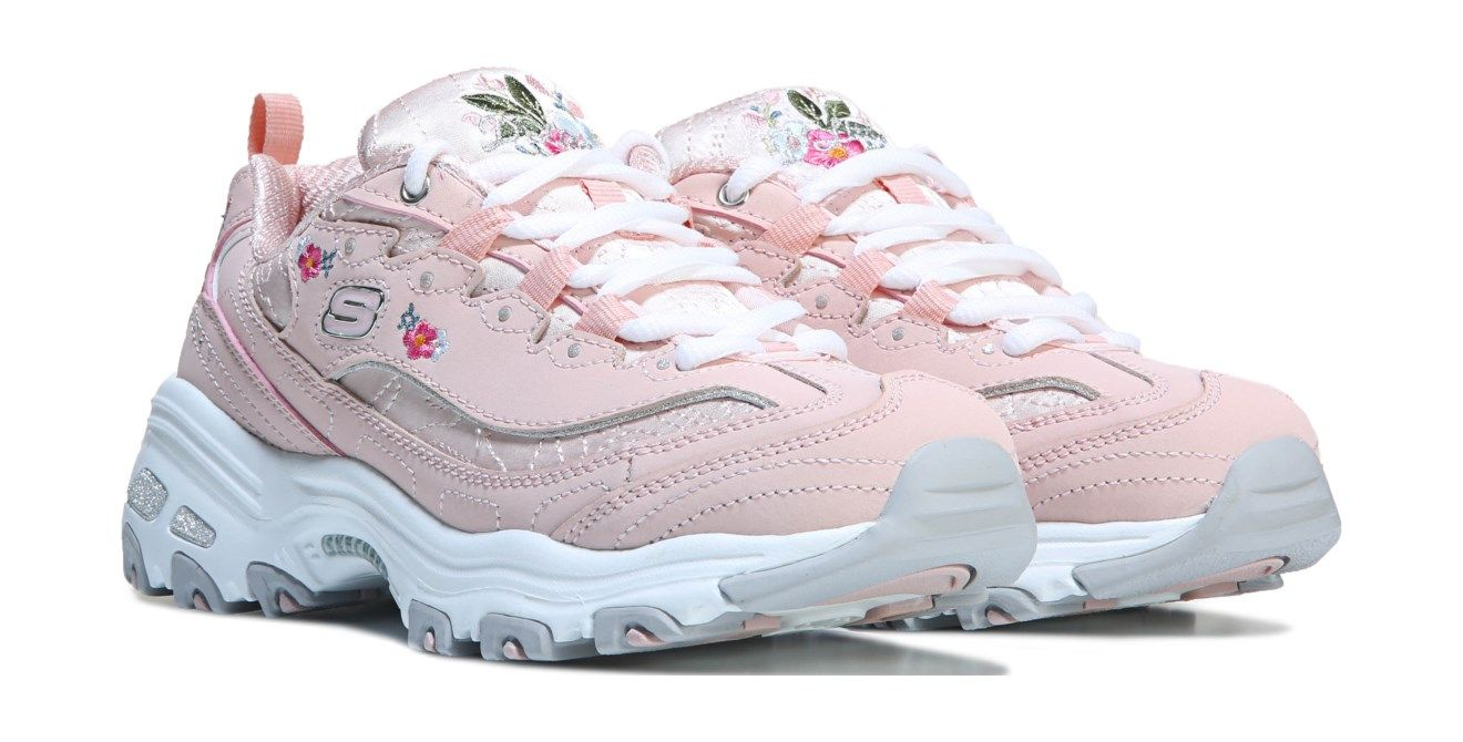 skechers for women pink