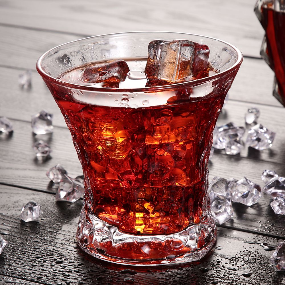 Rounded Crystal Whiskey Glass Whiskey Glasses Whisky Glass Drinking Glass